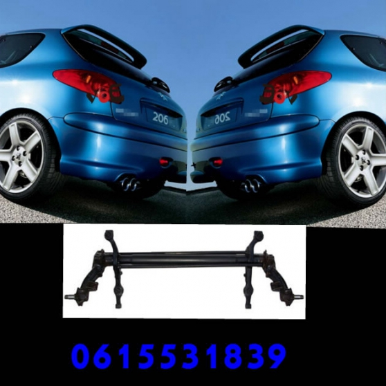 train arri re peugeot 206 106 saxo auto accessoires pi ces. Black Bedroom Furniture Sets. Home Design Ideas
