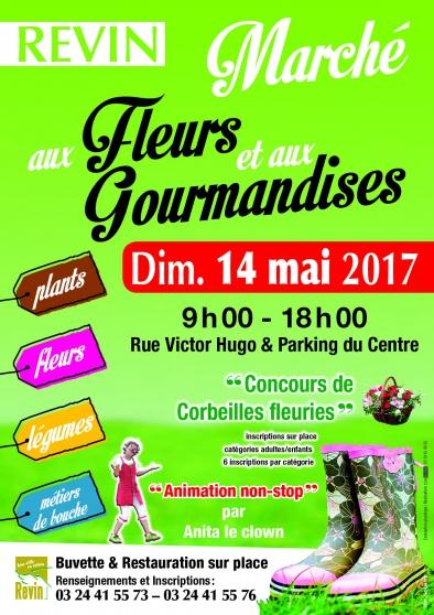 marché aux fleurs & gourmandises 2017 - Annonce gratuite marche.fr