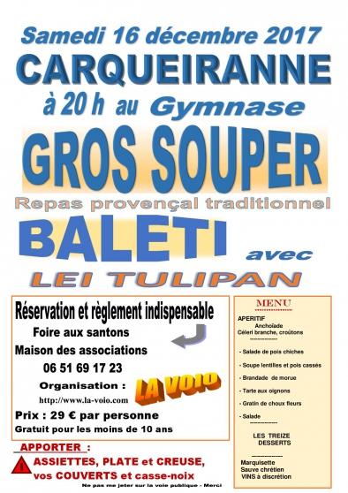 gros souper traditionnel - Annonce gratuite marche.fr