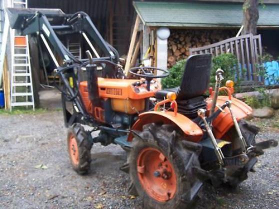 micro tracteur kulbota b7001+chargeur - Annonce gratuite marche.fr