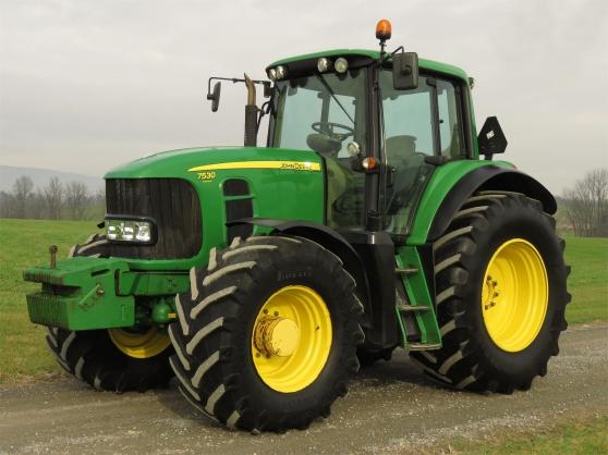 tracteur John Deere 7530 Premium
