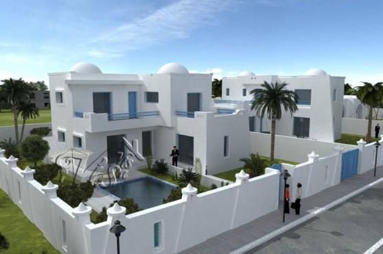 :PROJET DE CONSTRUCTION D'UNE VILLA AVEC
