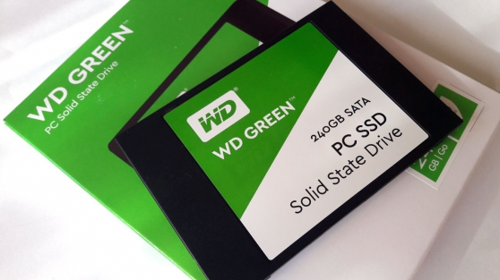 Annonce occasion, vente ou achat 'Western Digital SSD Green WDS240G1G0A'
