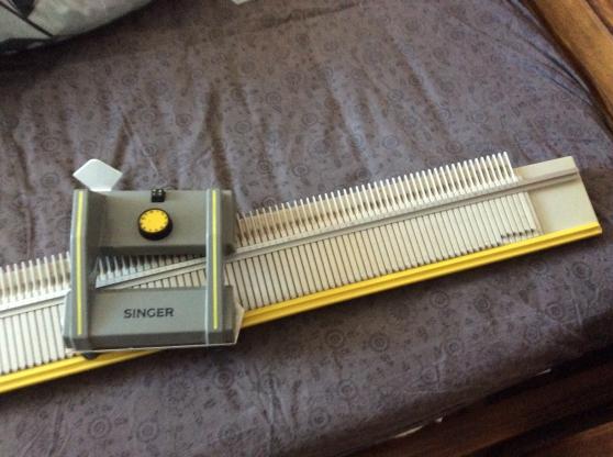 Machine à tricoter singer gros fils