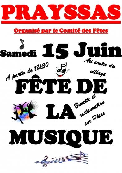 Annonce occasion, vente ou achat 'Fête de la musique'