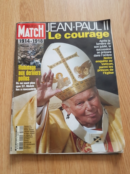 ANCIENS PARIS MATCH