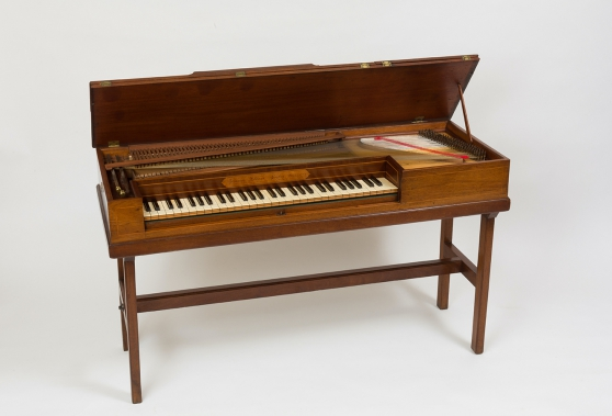 Pianoforte Johannes Pohlman.London, 1774