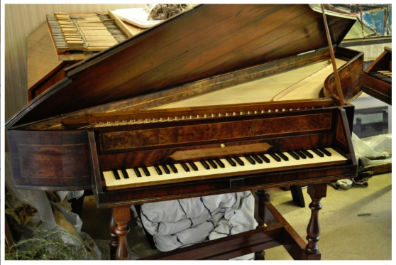 Annonce occasion, vente ou achat 'English Spinet s.XVIII Johannes HARRIS?'