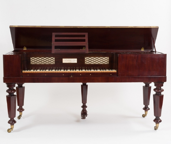 Square piano John Broadwood London, 1843