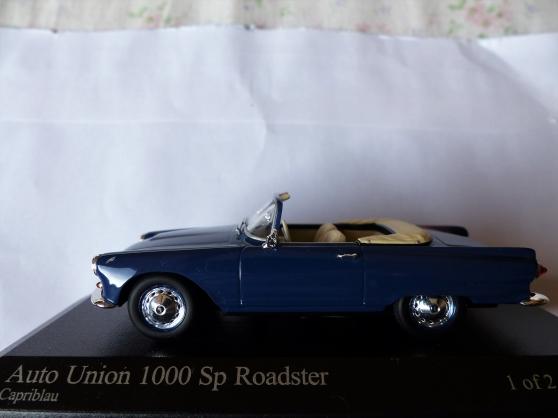 Annonce occasion, vente ou achat 'auto union 1000 sn minichamps'