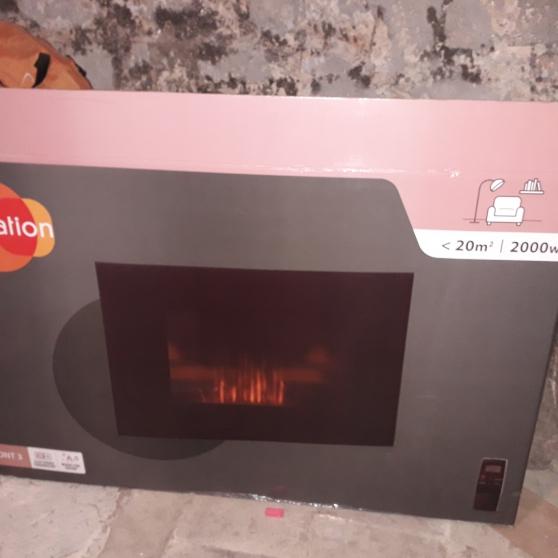 Annonce occasion, vente ou achat 'Chauffage electrique poêle chemine'