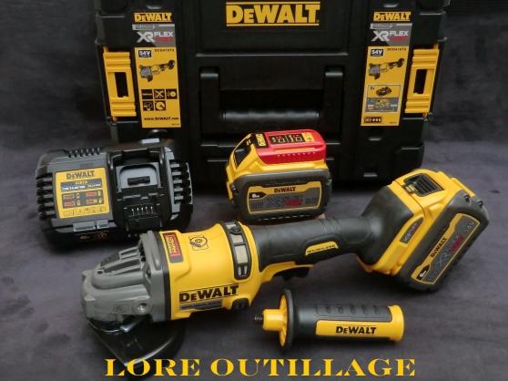 DeWALT DCG418 - Meuleuse / Disqueuse 54v
