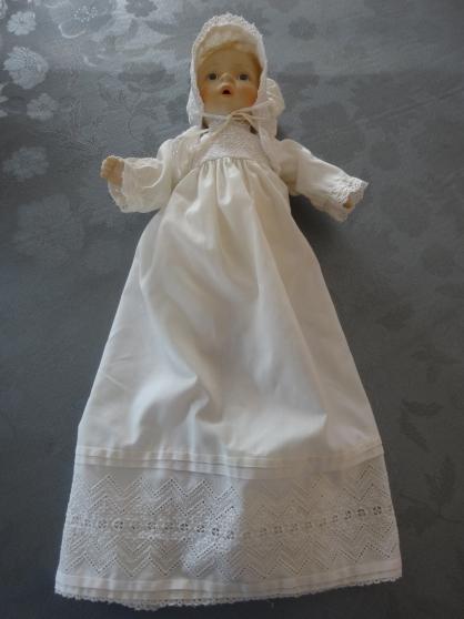 Annonce occasion, vente ou achat 'POUPÉE DE BAPTÊME ELISABETH LINDNER'