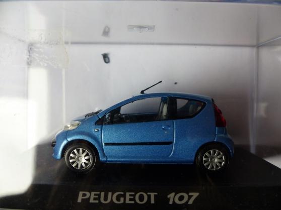 Annonce occasion, vente ou achat 'PEUGEOT 107 NOTREV 1/43ème'