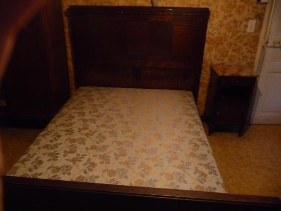 chambre vintage du xxe si cle millau meubles d coration lits millau reference meu lit. Black Bedroom Furniture Sets. Home Design Ideas