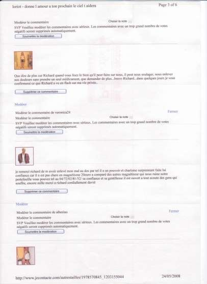 Annonce occasion, vente ou achat 'magnetiseur'