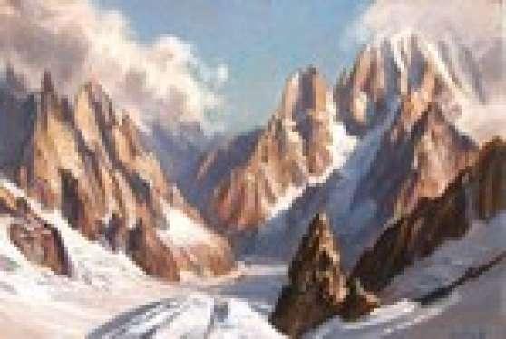 Annonce occasion, vente ou achat 'Rech peinture Pays de Savoie et montagne'