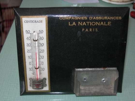 thermomètre de bureau en tôle