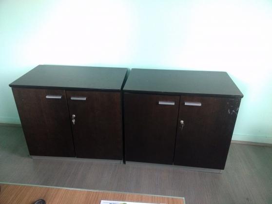 Lot bureau fauteuil meuble meubles d coration for Meubles bureau 24