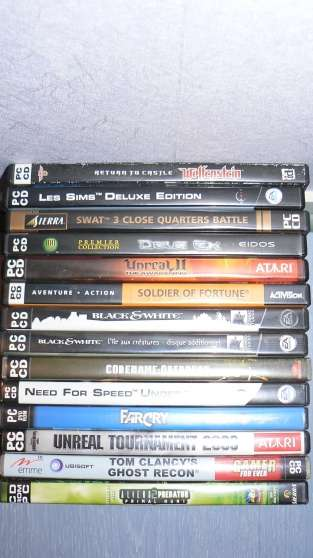Annonce occasion, vente ou achat 'Jeux PC 14 pcs'