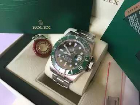 Annonce occasion, vente ou achat 'Rolex Submariner Original 116610 LV'