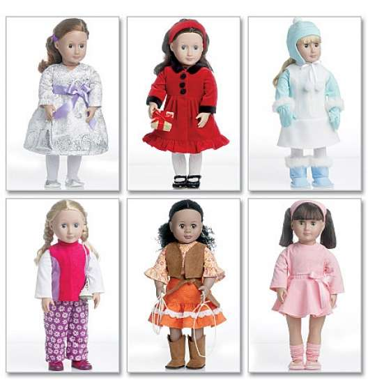 Patrons pour poupée de 45 cm