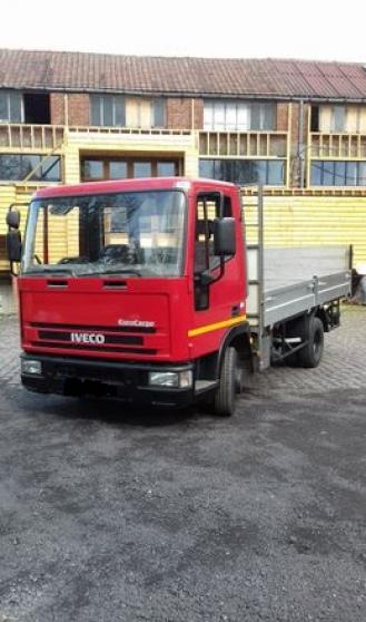Annonce occasion, vente ou achat 'Iveco eurocargo camion plateau ridelles'