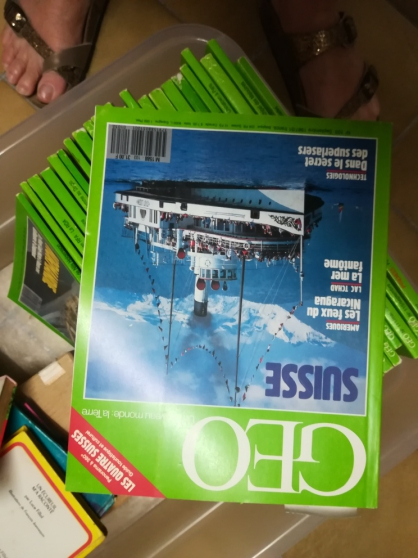 Annonce occasion, vente ou achat 'revues GEO'