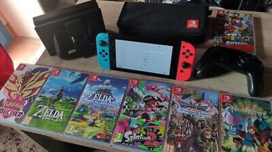 Annonce occasion, vente ou achat 'Nintendo Switch a vendre'