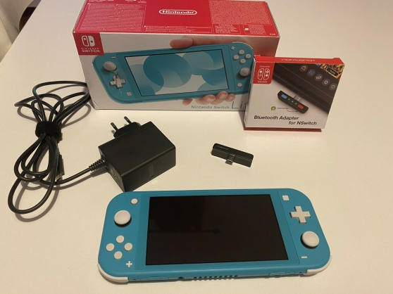 Annonce occasion, vente ou achat 'Nintendo Switch Lite Gris Poche'