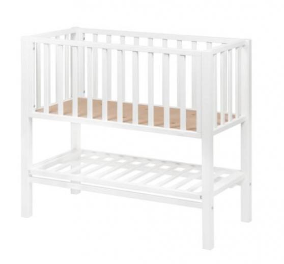 Berceau bébé Joy 90x40 blanc Quax