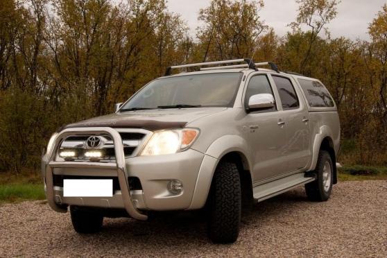 Toyota hilux double cabine d-4d Diesel