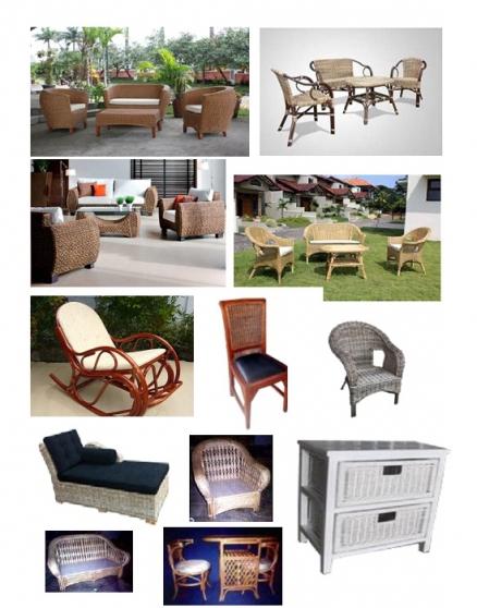 Annonce occasion, vente ou achat 'Rattan Furniture'