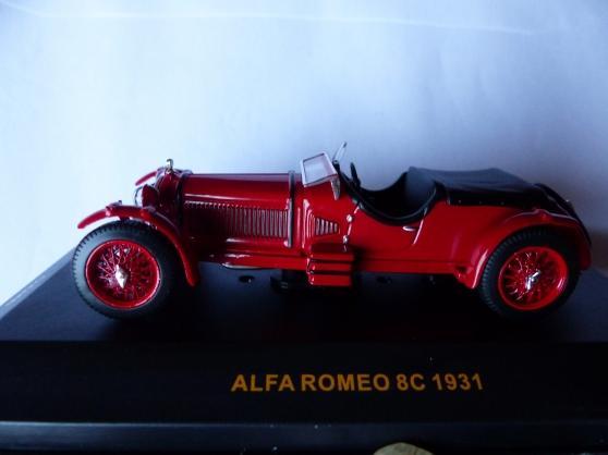 Annonce occasion, vente ou achat 'ALFA ROMEO 8C IXO 1/43ème'