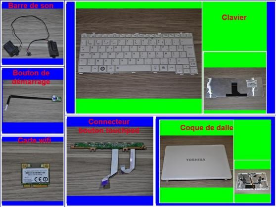 Annonce occasion, vente ou achat 'Pièces Toshiba Satellite T130-15T 13,3P'