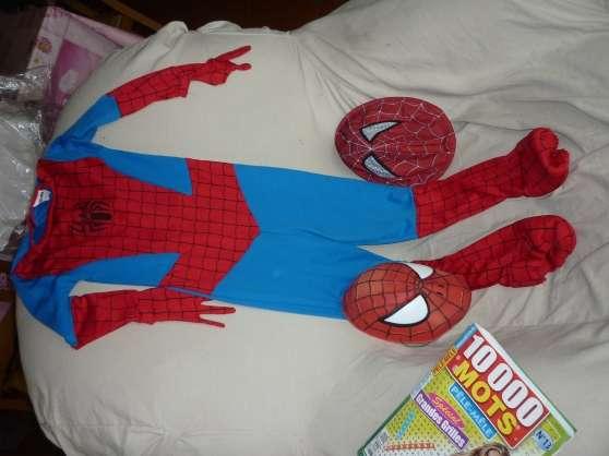 Deguisement spiderman 5/8 ans