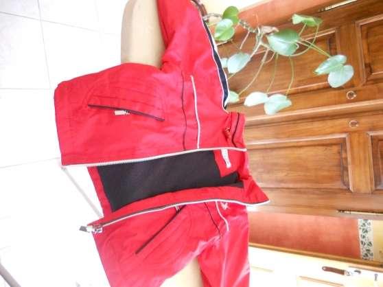 blouson coupe vent rouge 2 ans