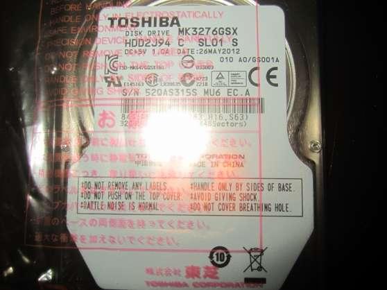 Annonce occasion, vente ou achat 'Disque dur Toshiba 320 Go Neuf'