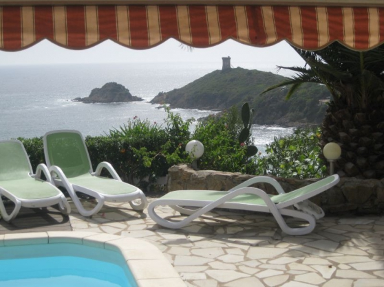 Belle villa en face mer à porto vecchio