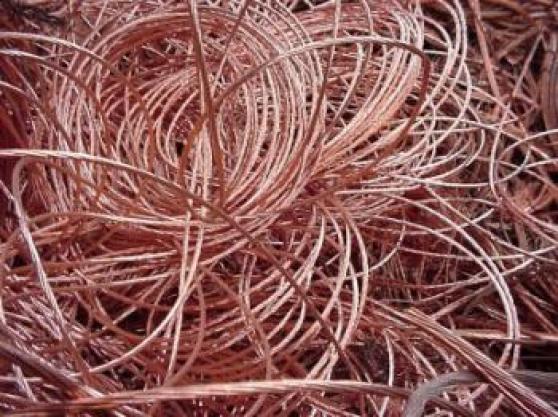 Câbles dénudés de cuivres
