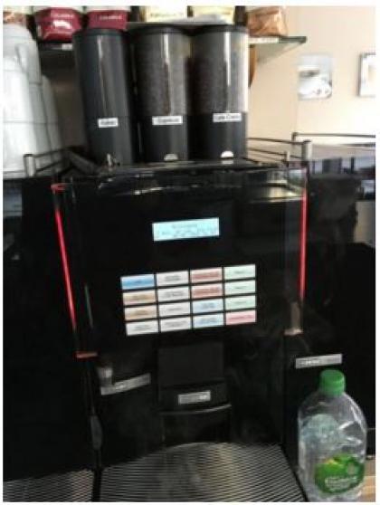 Café Machine entièrement automatique