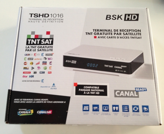 Décodeur TNT SAT HD neuf
