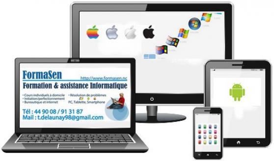 Annonce occasion, vente ou achat 'Cours informatique à domicile Nouméa'