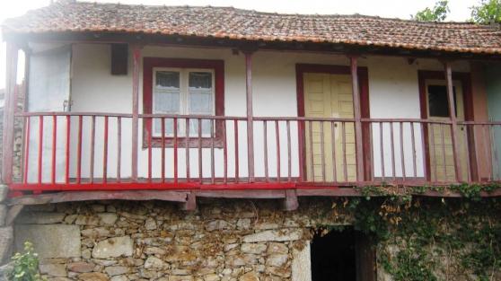 Maison de village, nord du Portugal