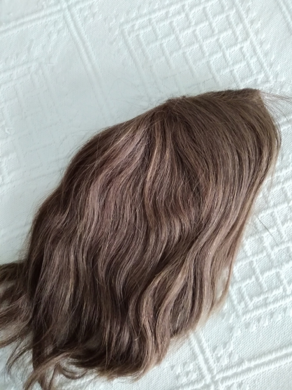Vend Perruque aux cheveux naturels