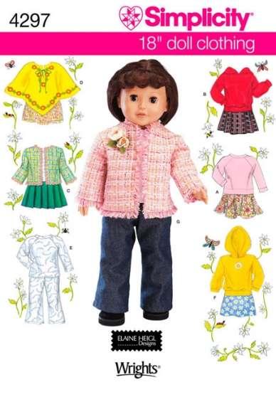 Patrons Simplicity pour poupées - Photo 2