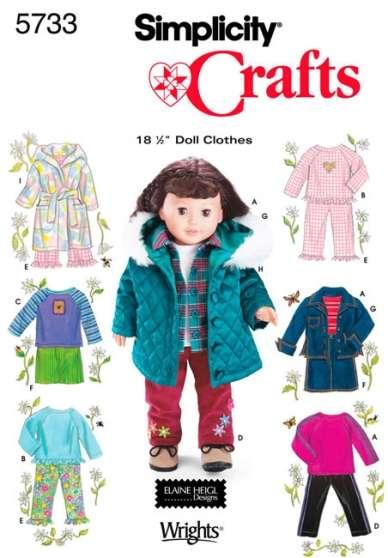 Patrons Simplicity pour poupées - Photo 3