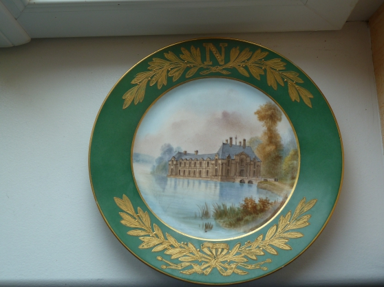 Assiette Napoléonique de Sèvres