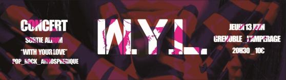 W.Y.L. en concert le 13 Juin à l\'Ampérag - Photo 2