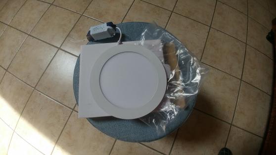 Panneau LED rond 12 Watts Blanc Chaud